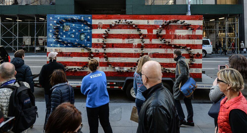 Nowy Jork przed wyborami prezydenckimi w USA