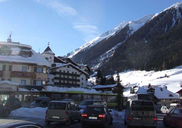 Austriacki ośrodek narciarski Ischgl