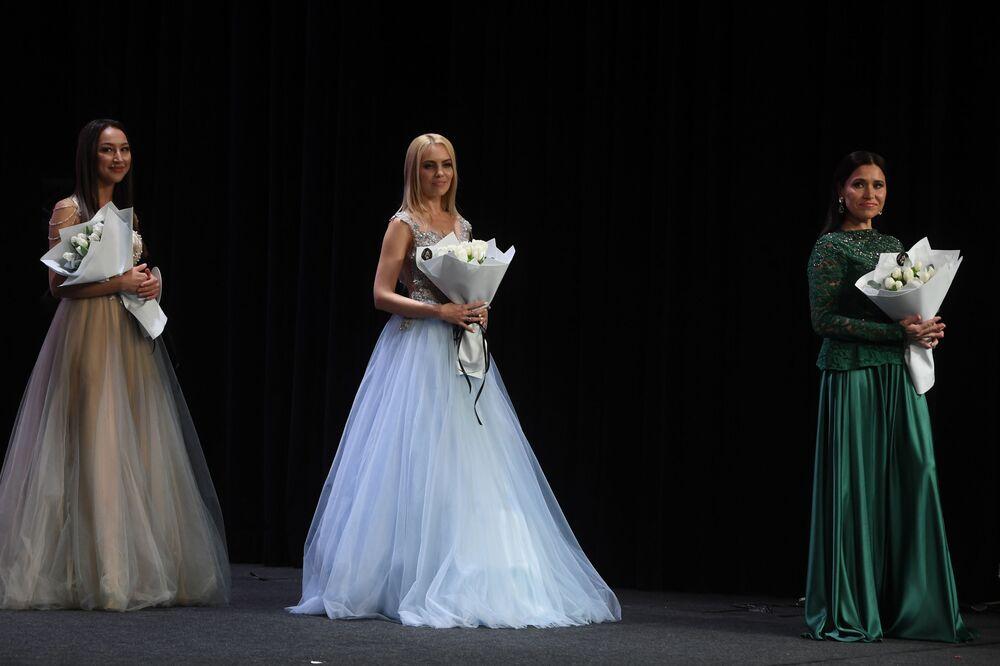 """Uczestniczki konkursu piękności """"Miss Tatarstan 2020"""" w Kazaniu"""