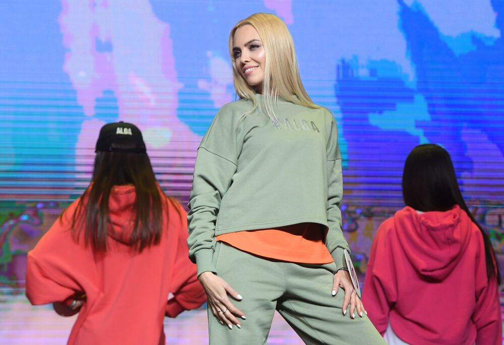 """Uczestniczka konkursu piękności """"Miss Tatarstan 2020"""" w Kazaniu"""