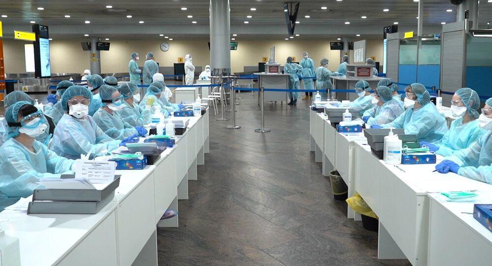 Pracownicy służby medycznej przygotowani do kontroli sanitarnej
