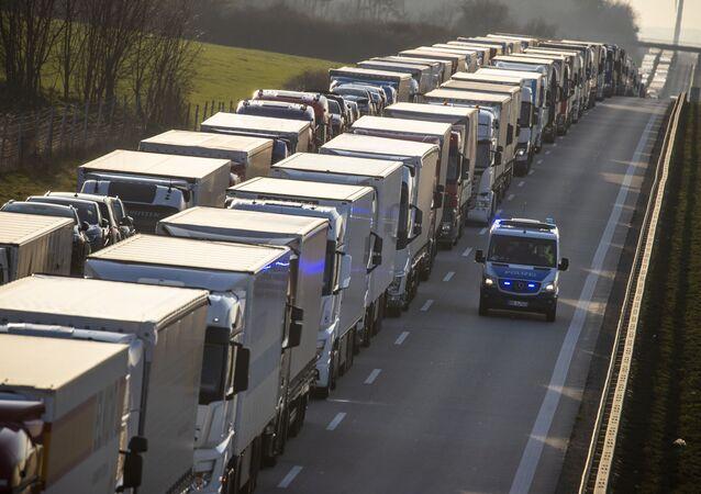 60-kilometrowy korek na granicy polsko-niemieckiej
