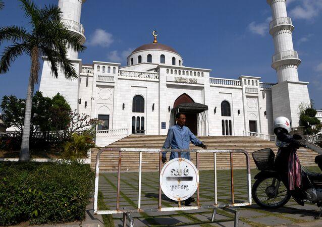Meczet w Kambodży