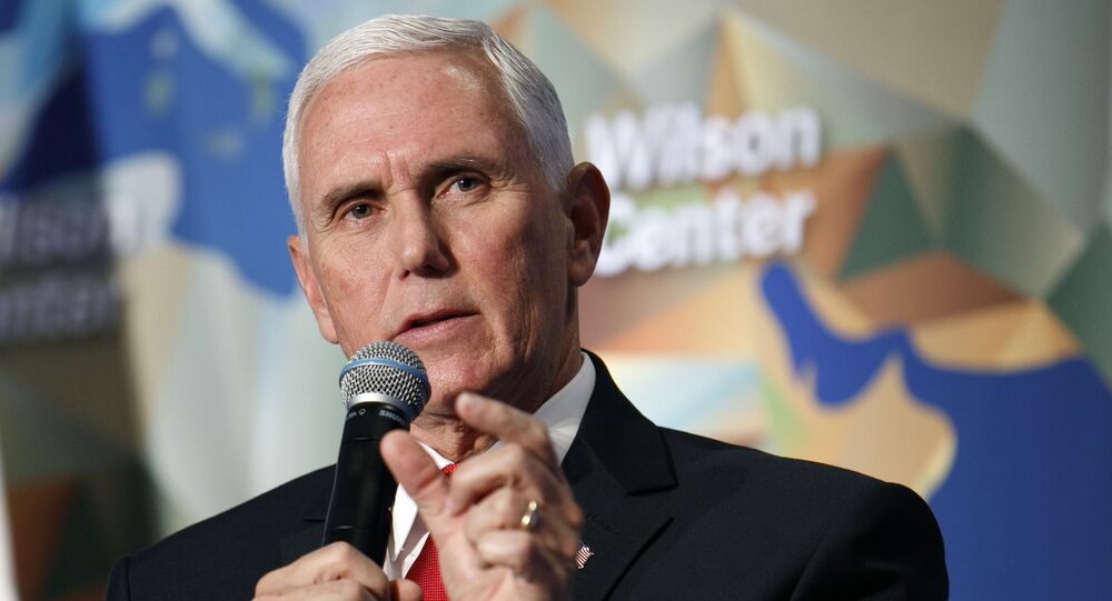 Wiceprezydent USA Mike Pence.