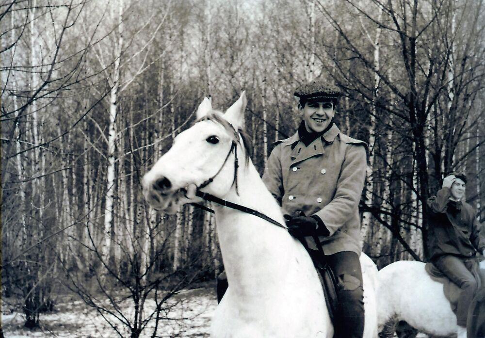 Młody Siergiej Ławrow na urlopie