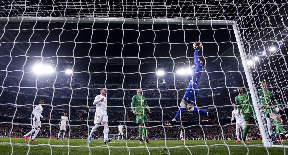 Mecz Real Madryt - Real Sociedad, Hiszpania