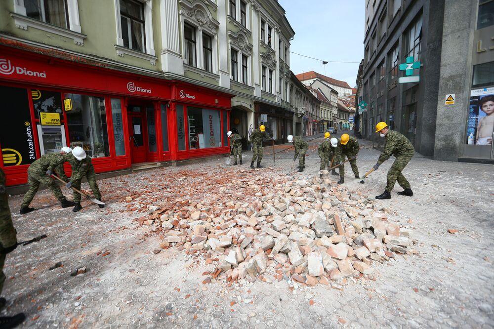Trzęsienie ziemi w Zagrzebiu