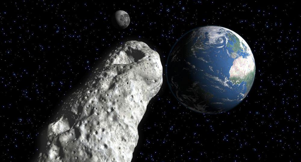 Asteroida zbliża się do Ziemi.