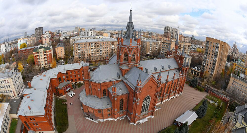 Katedra rzymskokatolicka Niepokalanego Poczęcia Najświętszej Marii Panny przy ulicy Mała Gruzińska w Moskwie