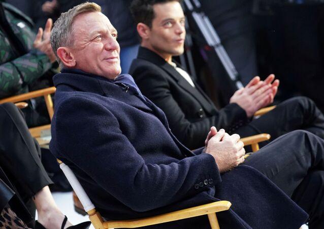 Brytyjski aktor Daniel Craig