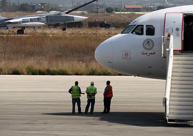 Baza lotnicza Hmeimim w Syrii