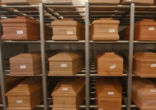 Przepełnione krematoria