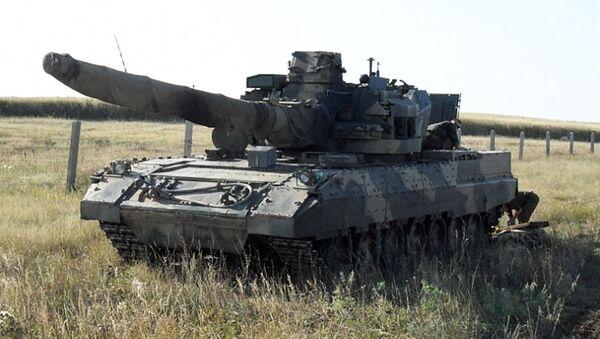 """Jeden z prototypów czołgu T-95 (""""Obiekt 195"""") - Sputnik Polska"""