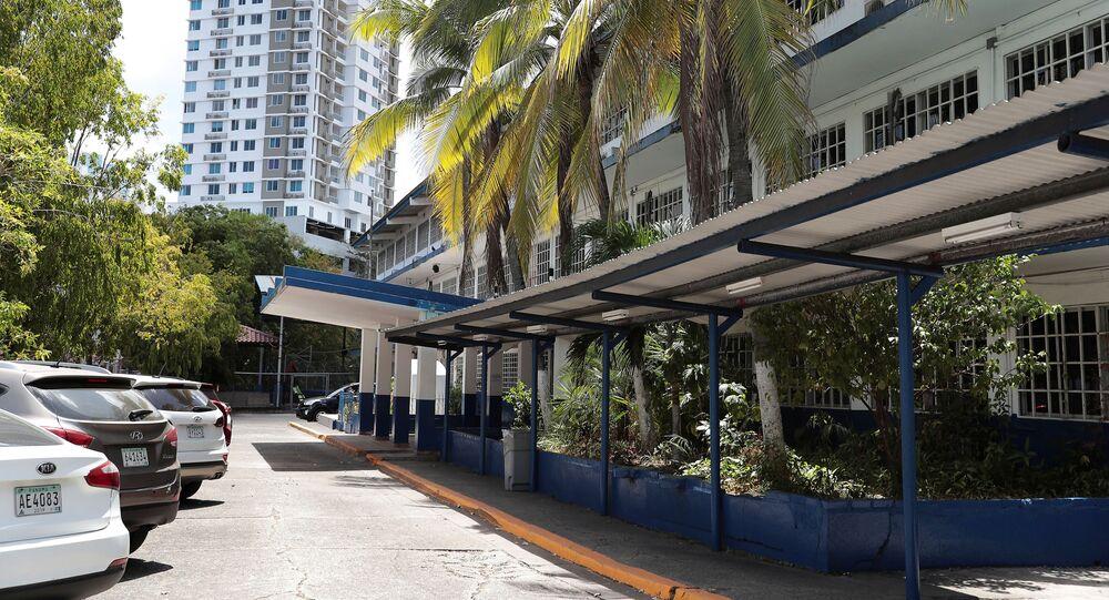 Zamknięta szkoła podczas kwarantanny w Panamie