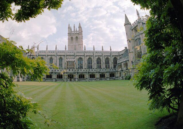 Budynek Uniwersytetu Oksfordzkiego