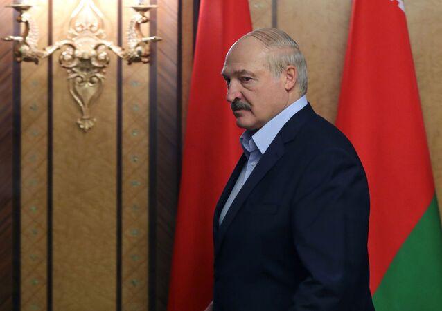 Prezydent Białorusi Aleksandr Łukaszenka