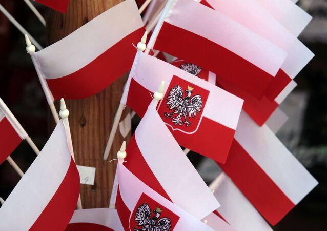 Polskie flagi