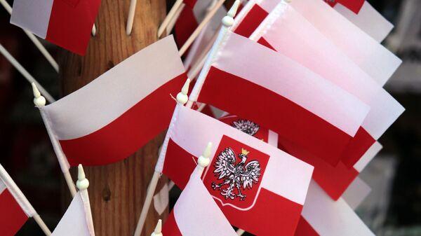Polskie flagi - Sputnik Polska
