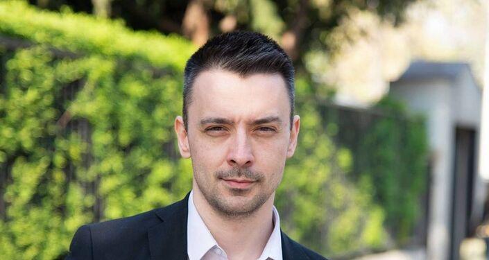 Bułgarski polityk Krystian Szkwarek