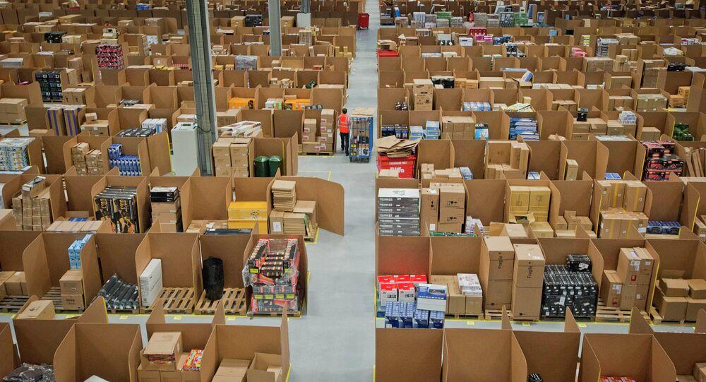Magazyny z przesyłkami