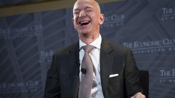 Jeff Bezos, właściciel Amazona - Sputnik Polska