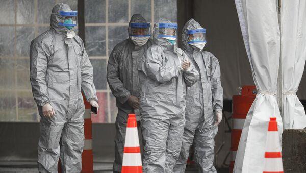 Personel medyczny, USA - Sputnik Polska