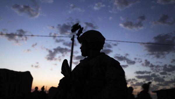 Amerykański żołnierz w Iraku - Sputnik Polska