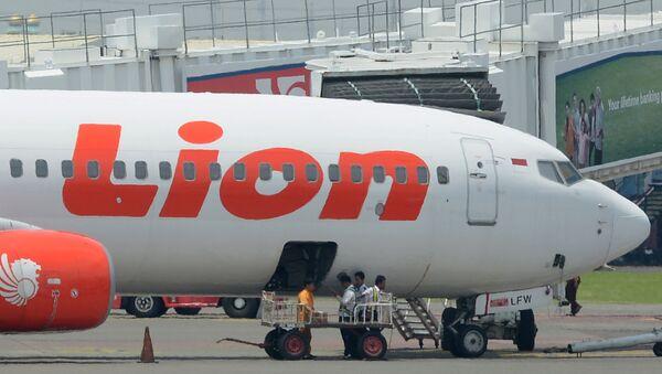 Samolot linii lotniczych Lion Air. - Sputnik Polska