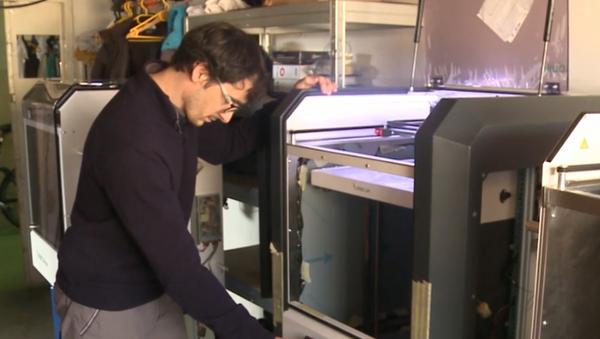 Projekt respiratora, który można wydrukować na drukarce 3D  - Sputnik Polska