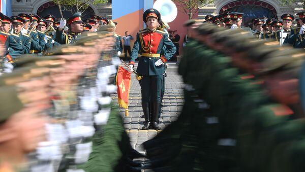 Parada Zwycięstwa w Moskwie, 9 maja - Sputnik Polska