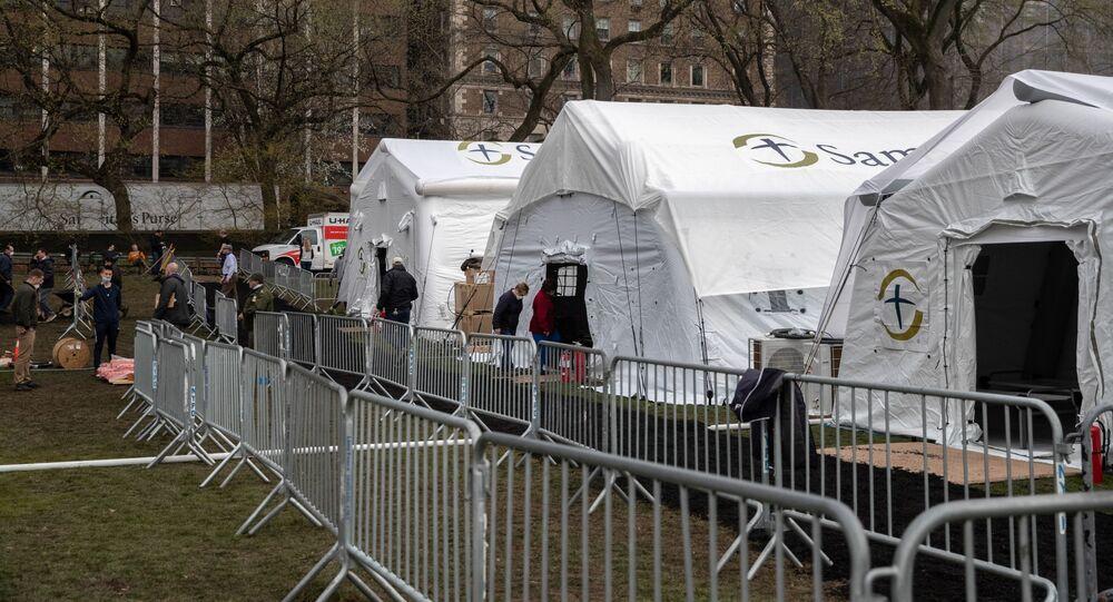 Szpital polowy w Central Parku