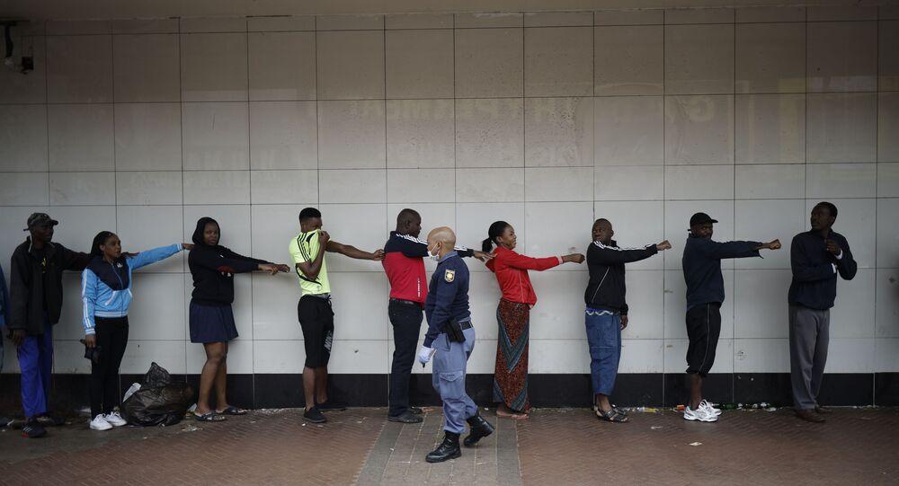 Epidemia koronawirusa w RPA