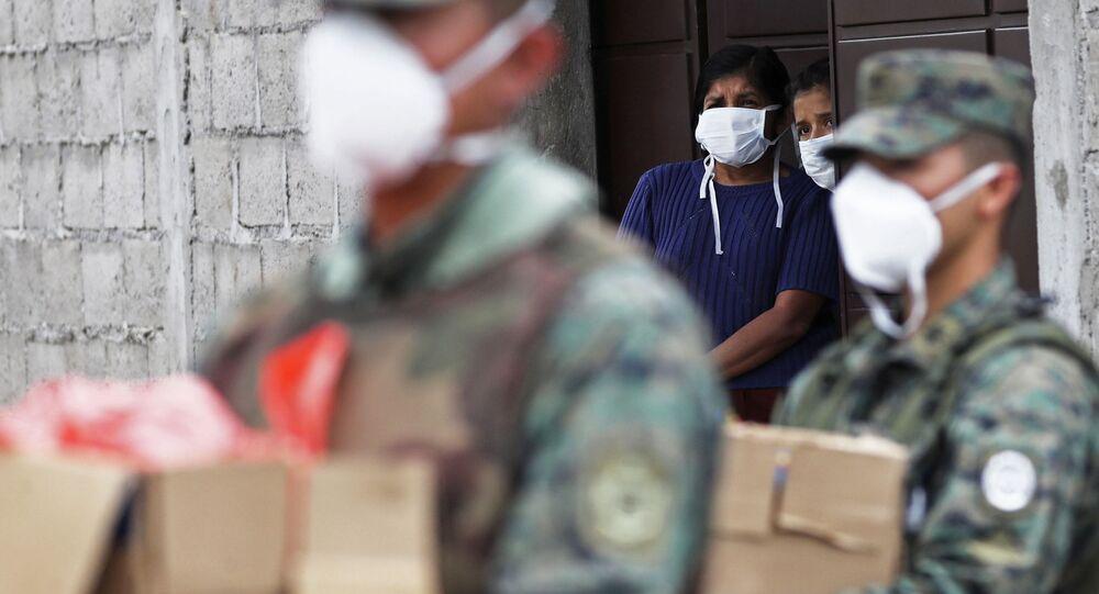 Epidemia koronawirusa w Ekwadorze.