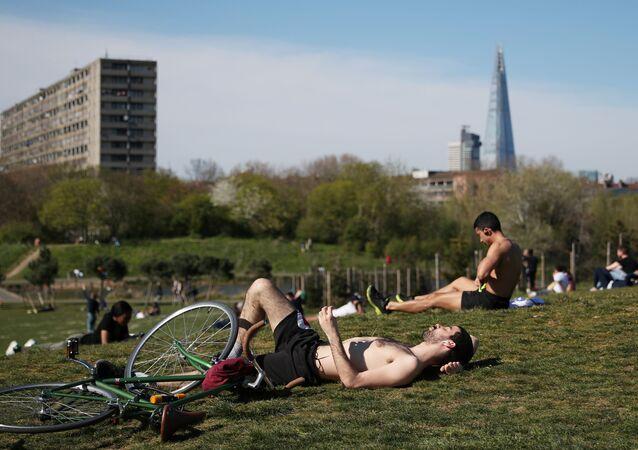 Burgess Park w Londynie
