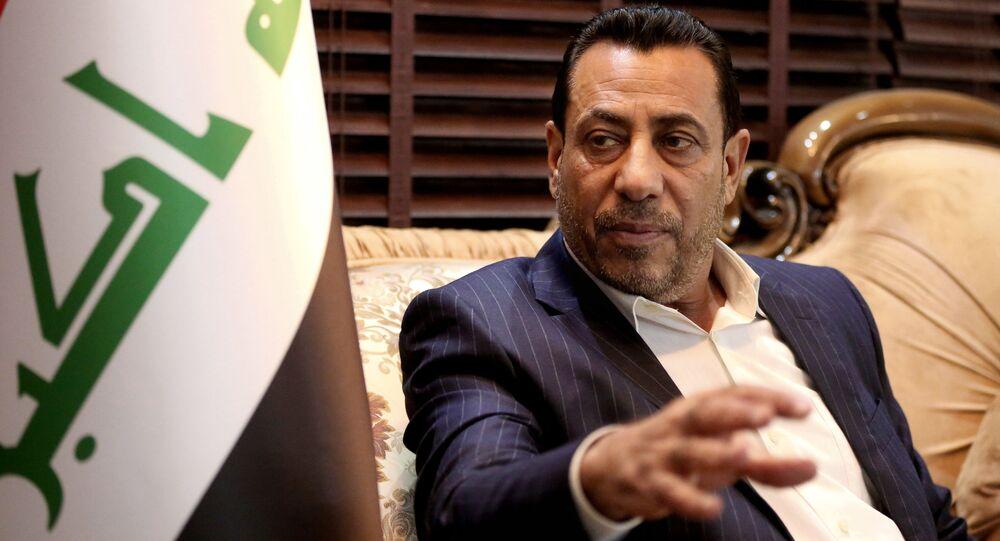 Szef parlamentarnej komisji ds. obrony i bezpieczeństwa w Iraku Hakim al-Zamili