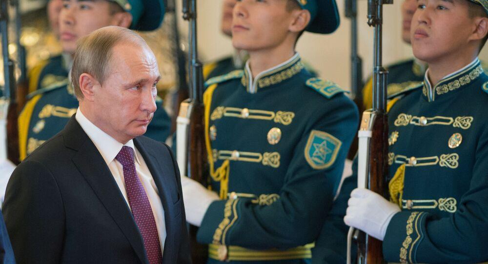 Wizyta prezydenta FR Władimira Putina w Kazachstanie