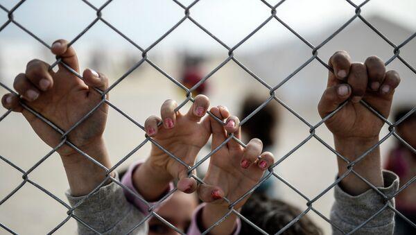 obóz dla uchodźców - Sputnik Polska