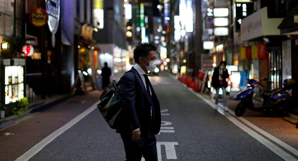 Mężczyzna w Tokio