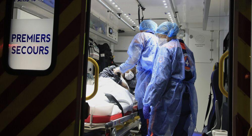 Kobieta w ciąży podejrzana o zarażenie koronawirusem w Paryżu
