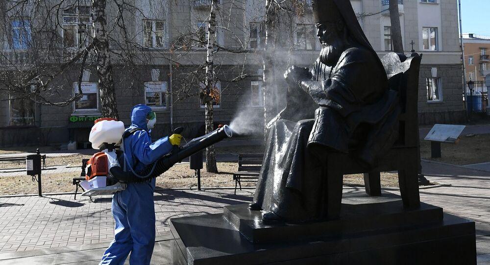 Dezynfekcja w Moskwie