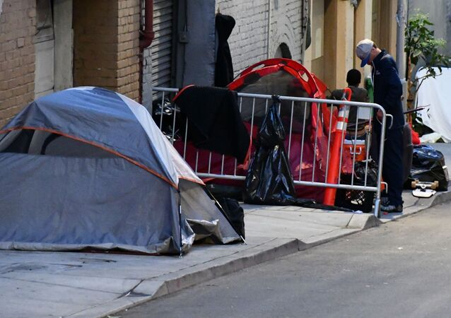 Bezdomni w San Francisco