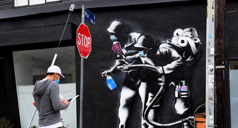 Mural w Los Angeles