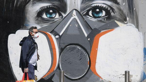Graffiti w Mediolanie - Sputnik Polska