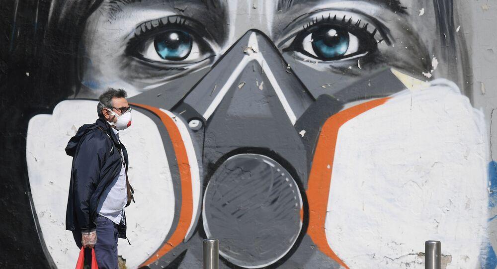 Graffiti w Mediolanie