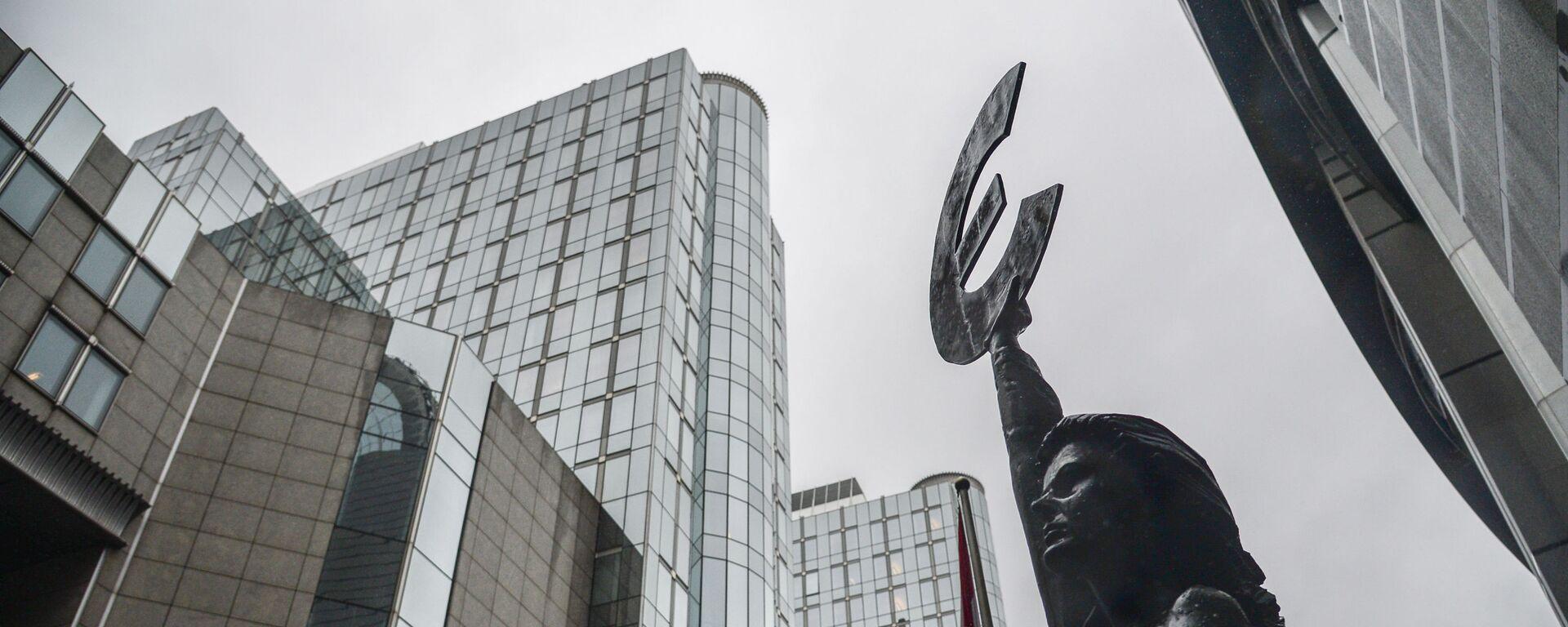 Budynek Parlamentu Europejskiego w Brukseli - Sputnik Polska, 1920, 18.06.2021
