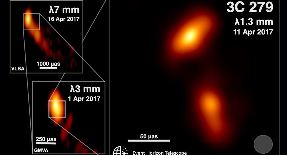 Najbardziej szczegółowe zdjęcie dżetu - strumienia plazmy wyrzuconego przez supermasywną czarną dziurę