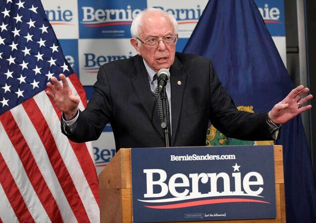 Kandydat na prezydenta USA z ramienia Partii Demokratycznej Bernie Sanders
