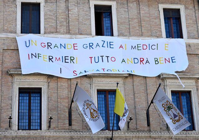 Rzym dziękuje lekarzom i pielęgniarkom