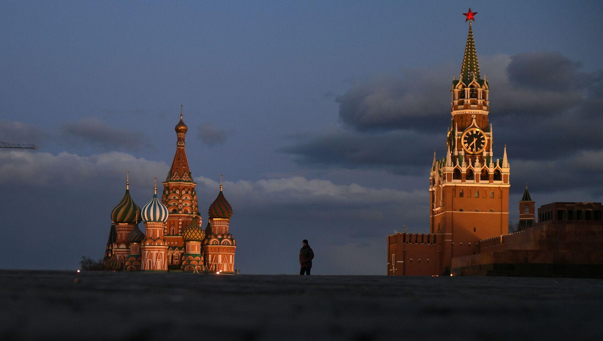 Kwarantanna w Moskwie - Sputnik Polska, 1920, 26.03.2021