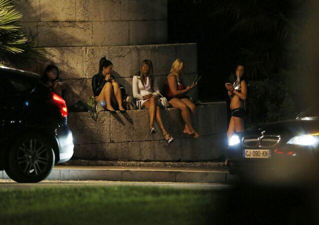 Prostytutki w Nicei, wrzesień 2015
